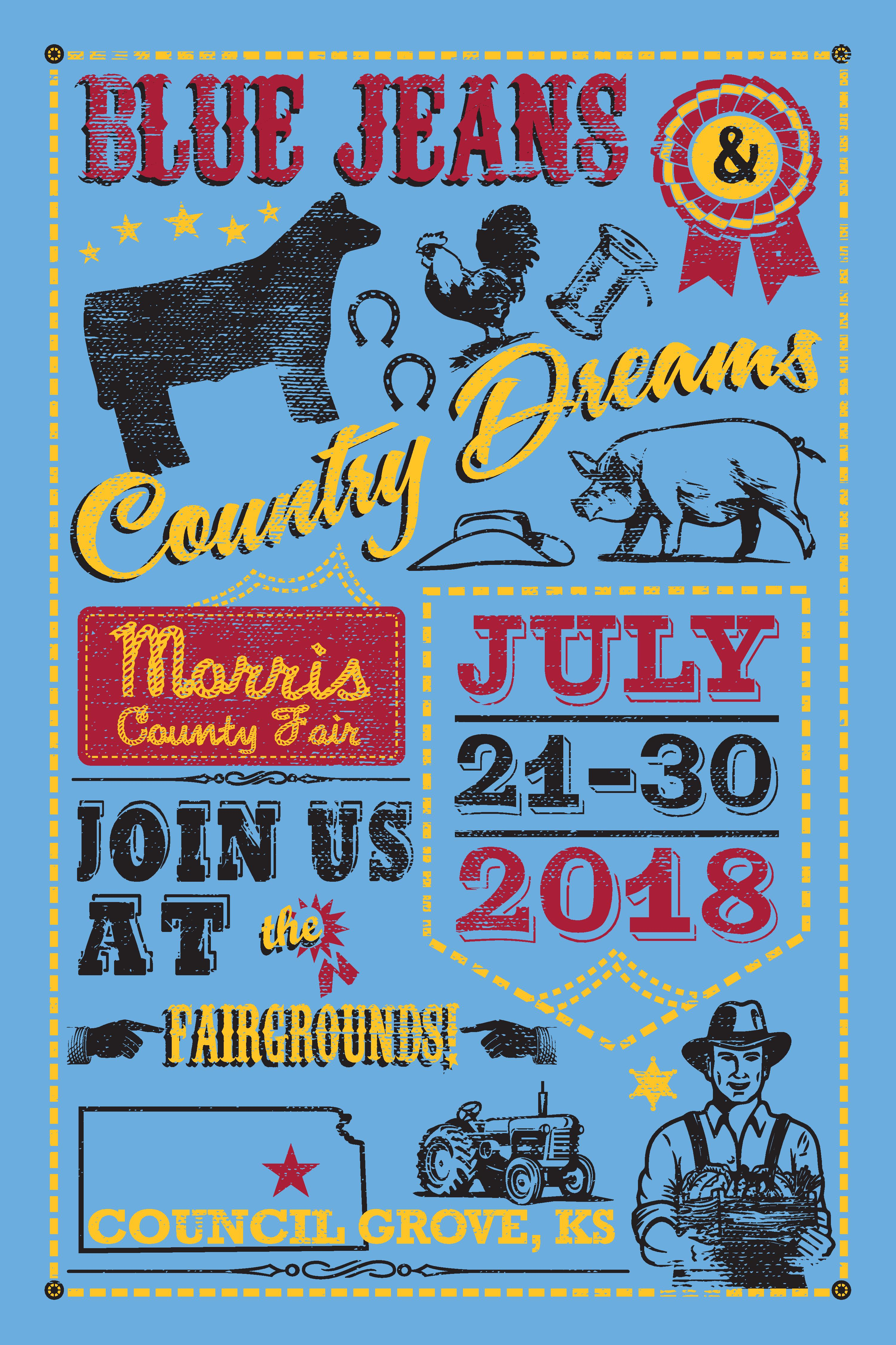 2018 Morris County Fair Schedule!
